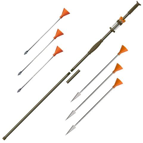 Coldsteel 1108098 cold steel tim wells signature series slock master blowgun