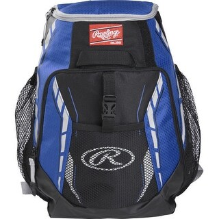 Rawlings R400-S Players Backpack (Royal Blue)