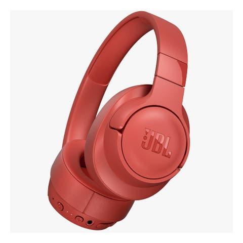 JBL Tune 750 On-Ear Wireless Headphones with Noise-Cancelling