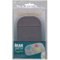 BeadSmith Small Sticky Bead Mat -Keep Your Beads In Place - 3.25 x 5.5 Iches