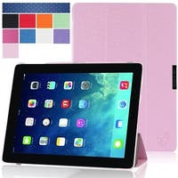 i-Blason, 2nd Generation i-Folio Slim Hard Shell Stand Case Cover for Apple iPad Mini with Retina Display Case-Pink