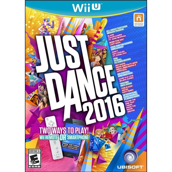 Just Dance 2016 Video Game: Wii U Standard Edition - multi