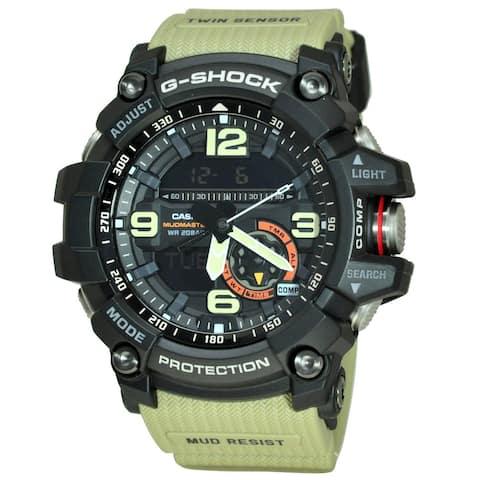 Casio Men's GG1000-1A5D 'G-Shock' Green Cloth Watch
