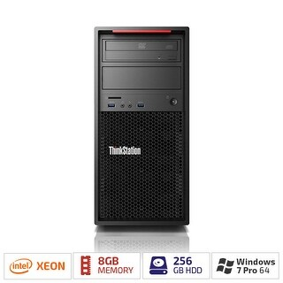 Lenovo ThinkStation P310 30AT000GUS with Xeon E3/256 GB SSD & 8 GB RAM
