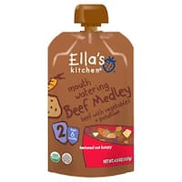 Ella's Kitchen  - Mouth Watering Beef Medley ( 12 - 4.5 OZ)
