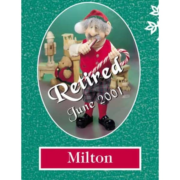 "13"" Zims The Elves Themselves Milton Collectible Christmas Elf Figure - multi"