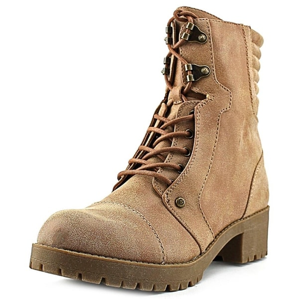 G By Guess Meara Women  Round Toe Synthetic Tan Ankle Boot
