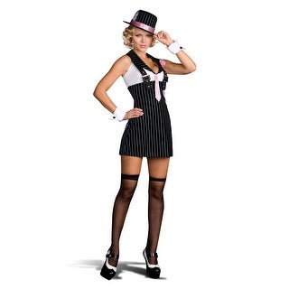 Dirty Sexy Money Gangster Girl Costume Adult