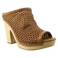 Dolce Vita Womens Brooks Caramel Heels Size 8.5