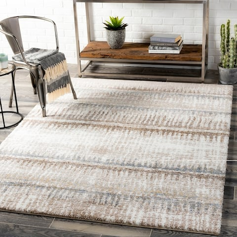 Frequence Modern Plush Area Rug