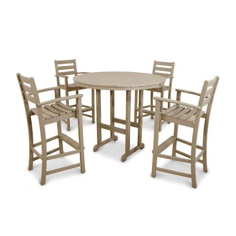 Trex Outdoor Furniture Monterey Bay 5-Piece Bar Set