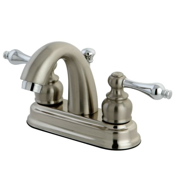 Kingston Brass KB561.AL Restoration 1.2 GPM Centerset Bathroom Faucet with Pop-Up Drain Assembly