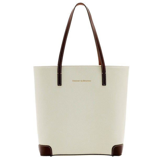 Dooney & Bourke Leather Everyday Tote (Introduced by Dooney & Bourke at $248 in Oct 2016) - Bone