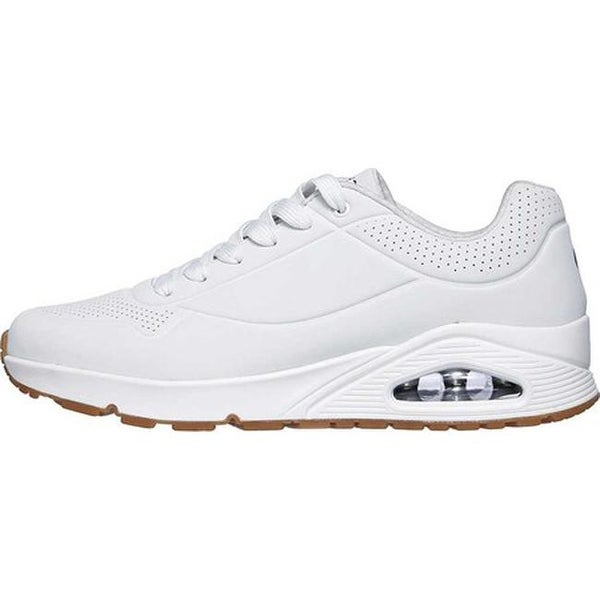 Skechers Womens White Uno Stand On Air Trainers