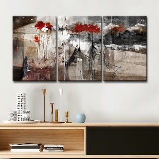 Link to Ready2HangArt 'Abstract' Multi-panel Canvas Wall Art Similar Items in Canvas Art