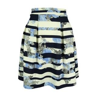 INC International Concepts Women's Floral Print Skirt