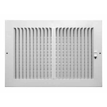 "Truaire C102M 12X08 Sidewall Ceiling Register, 12"" x 8"""