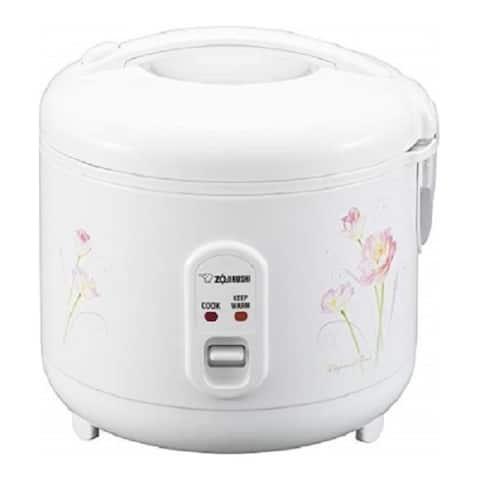 Zojirushi NS-RPC10FJ Rice Cooker and Warmer (1.0-Liter, Tulip)