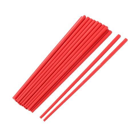 Chopsticks Red 10 Pairs