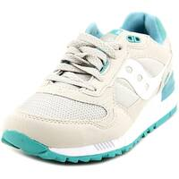 Saucony Shadow 5000 Women  Round Toe Suede Tan Running Shoe