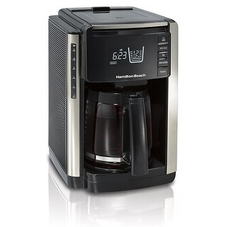 Hamilton Beach 2-Way Brewer 49980Z 12 Cups Coffee Maker - Black