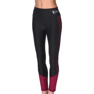 Bebe Womens Athletic Leggings Yoga Fitness