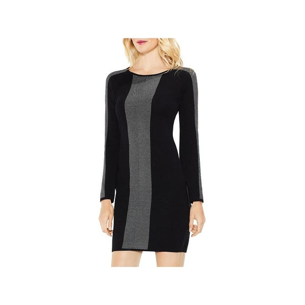 aaf27ce08cf Shop Vince Camuto Womens Sweaterdress Jacquard Business Casual ...