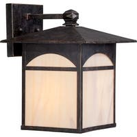 "Nuvo Lighting 60/5652 Canyon 9"" Width 1 Light Outdoor Lantern Wall Sconce"