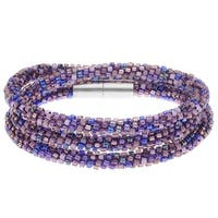 Beaded Kumihimo Wrap Bracelet Kit-Purple  - Exclusive Beadaholique Jewelry Kit