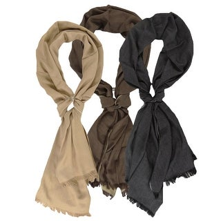 Charter Club Women's Reversible Wrap Scarf - One size