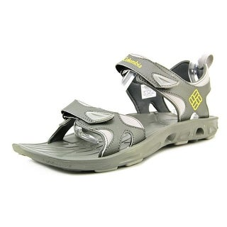 Columbia Techsun Vent Men Open-Toe Synthetic Gray Sport Sandal