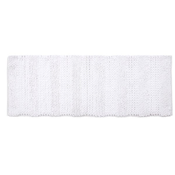 Supersoft and Absorbent Braided and Loop Chenille Oversized Bath Rugs (22 in x 60 in). Opens flyout.