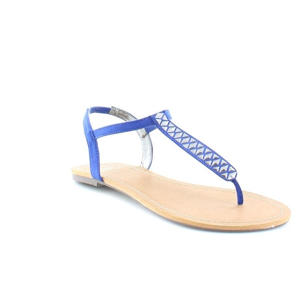 Material Girl Sage Women's Sandals & Flip Flops Cobalt