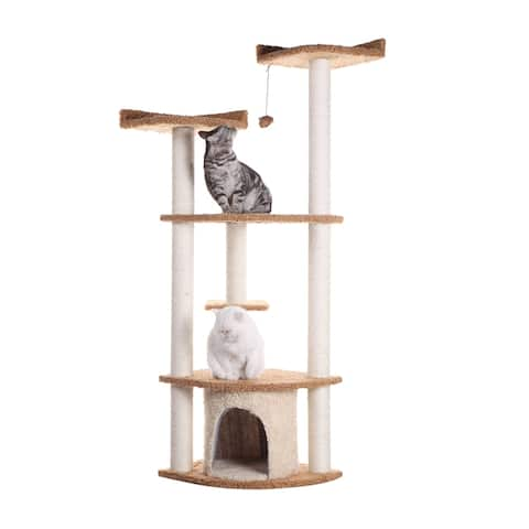Armarkat Cat Scratching Furniture and Bed For Cats Play, A6402