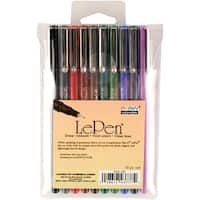 Le Pen Dark Set 10/Pkg-Assorted Colors