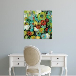 Easy Art Prints Silvia Vassileva's 'Fiesta Floral Crop' Premium Canvas Art