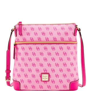 Dooney & Bourke Madison Signature Crossbody (Introduced by Dooney & Bourke at $168 in Jun 2016) - Fuchsia