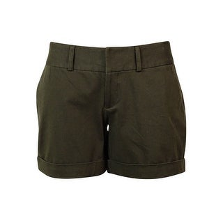 INC International Concepts Women's Cuffed Solid Shorts