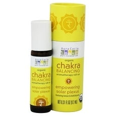 Aura Cacia Chakra Roll-On Empwr Solr .31-ounce