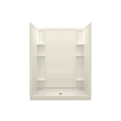 """Sterling 72130100 Ensemble 60"""" x 35-1/4"""" x 77"""" Vikrell Shower with"""