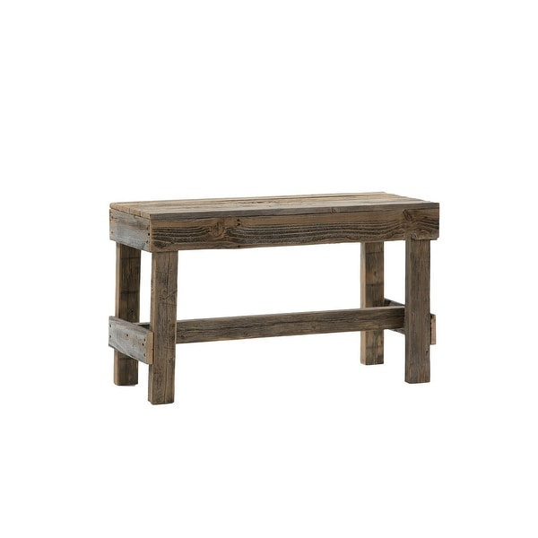 Del Hutson Designs Handmade Barnwood Bench. Opens flyout.