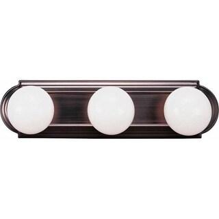 "Volume Lighting V1123 18"" Width 3 Light Bathroom Vanity Strip"