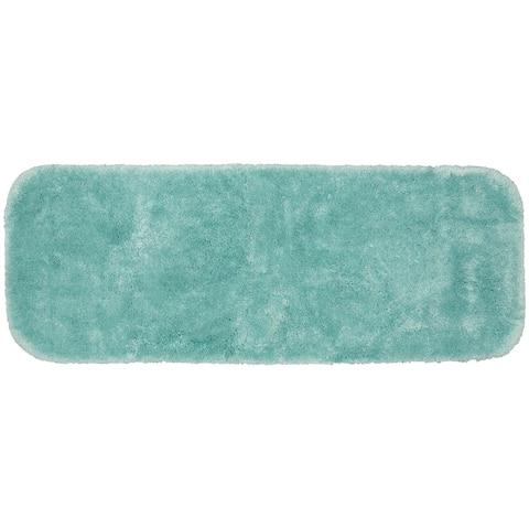 Finest Luxury Sea Foam Ultra Plush Washable Bath Rug Runner