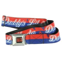 DC Comics Suicide Squad Seatbelt Belt-Holds Pants Up