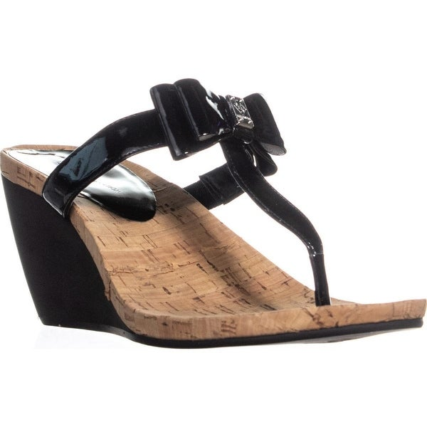 13f2b1bc1769 Shop BCBGeneration Michelle Wedge Thong Wedge Sandals