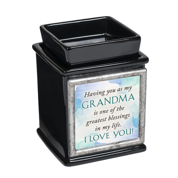 "5"" Black and Gray ""GRANDMA Quotes"" Printed Interchangeable Warmer - N/A"