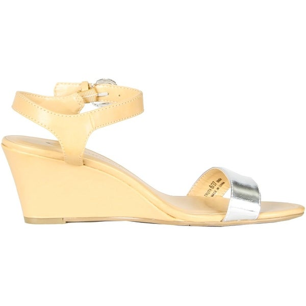 Cl By Chinese Laundry Womens Truth Sandals - Natural/Silver