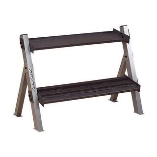 Body-Solid Dumbell/Kettlebell Rack - Black
