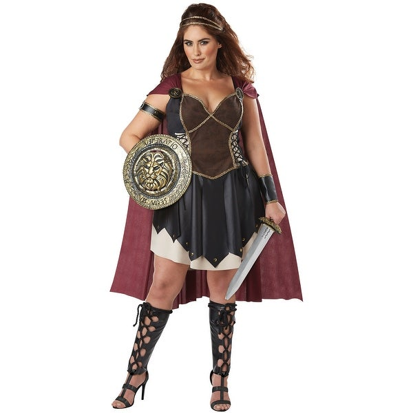 d98f17031 California Costumes Glorious Gladiator Plus Size Adult Costume - Brown Red