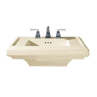 "American Standard 780.008 27"" Fireclay Pedestal Top with 8"" Centers from the Town Square Collection"